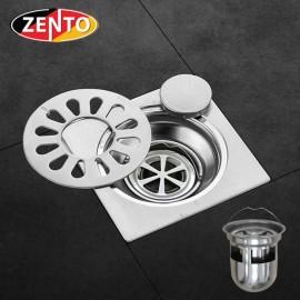 Phễu thoát sàn, máy giặt chuyên dụng Zento TS124 Double (118x118)